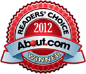 2012 About.Com Readers Choice Award